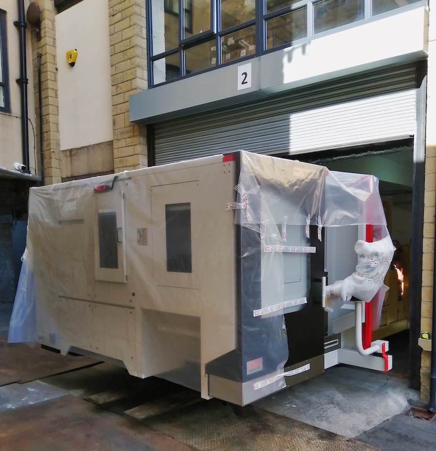 New 5-axis machining centre arrives at Westin Engineering